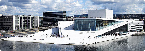 Movecat im New Opera House in Oslo